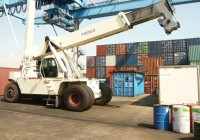 chariot porte container TEREX